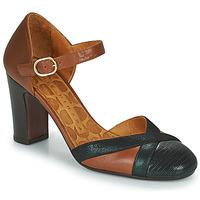 Schuhe Damen Pumps Chie Mihara WABE Camel / Schwarz