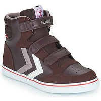 Schuhe Mädchen Sneaker High Hummel STADIL PRO JR Bordeaux