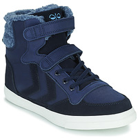 Schuhe Kinder Sneaker High Hummel STADIL WINTER HIGH JR Blau