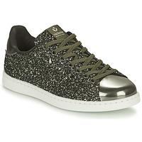 Schuhe Damen Sneaker Low Victoria TENIS GLITTER Kaki / Silbern