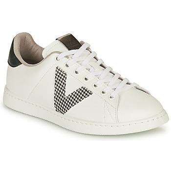 Schuhe Damen Sneaker Low Victoria TENIS VEGANA GAL Weiss / Grau