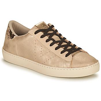 Schuhe Damen Sneaker Low Victoria BERLIN METAL Beige