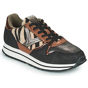 Schuhe Damen Sneaker Low Victoria COMETA MULTI Schwarz / Braun