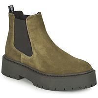 Schuhe Damen Boots Steve Madden VEERLY Kaki