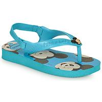 Schuhe Jungen Zehensandalen Havaianas BABY DISNEY CLASSICS II Blau