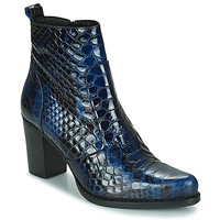 Schuhe Damen Klassische Stiefel Regard SALLY Schwarz