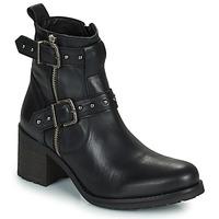 Schuhe Damen Klassische Stiefel Regard UGLAS Schwarz