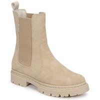 Schuhe Damen Boots Bullboxer 610507E6CAALMD Beige
