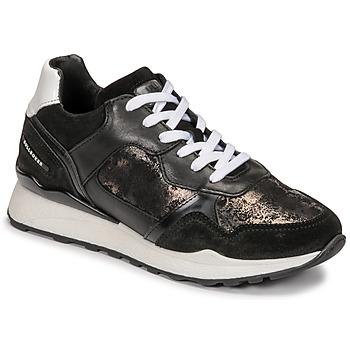 Schuhe Damen Sneaker Low Bullboxer 939004E5C_BLWH Schwarz