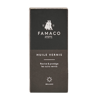 Accessoires Pflegemittel Famaco FLACON HUILE VERNIS 100 ML FAMACO NOIR Schwarz