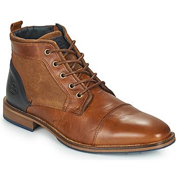 Schuhe Herren Boots Bullboxer BENN Braun