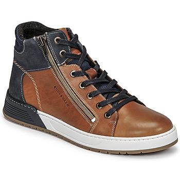 Schuhe Jungen Sneaker Low Bullboxer AOF506COGN Braun / Marine