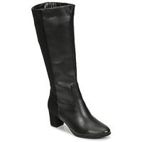 Schuhe Damen Klassische Stiefel Spot on F50366 Schwarz