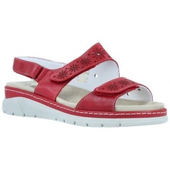 Schuhe Damen Sandalen / Sandaletten Suave Damen Keilsandaletten von  3362 Rot