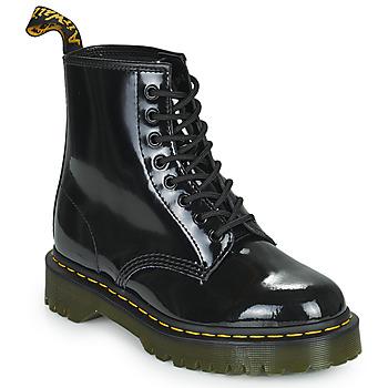 Schuhe Damen Boots Dr Martens 1460 BEX Schwarz