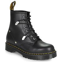 Schuhe Damen Boots Dr Martens 1460 BEX STUD Schwarz