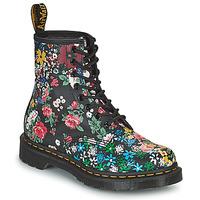Schuhe Damen Boots Dr Martens 1460 PASCAL Schwarz / Multicolor