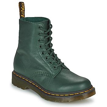Schuhe Damen Boots Dr Martens 1460 PASCAL Grün
