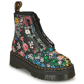 Schuhe Damen Boots Dr Martens SINCLAIR Schwarz / Multicolor