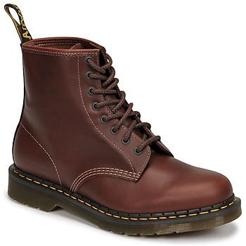 Schuhe Herren Boots Dr Martens 1460 Braun