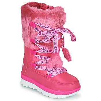 Schuhe Mädchen Schneestiefel Agatha Ruiz de la Prada APRESKI Rose