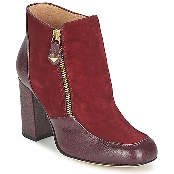 Schuhe Damen Low Boots Fericelli CHANTEVO Bordeaux