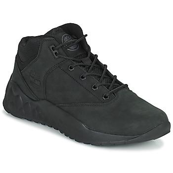 Schuhe Herren Sneaker High Timberland SOLAR WAVE SUPER OX Schwarz