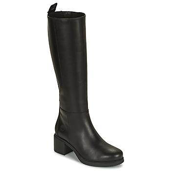 Schuhe Damen Klassische Stiefel Timberland DALSTON VIBE TALL BOOT Schwarz
