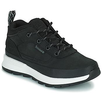Schuhe Kinder Sneaker High Timberland FIELD TREKKER LOW Schwarz
