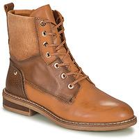 Schuhe Damen Boots Pikolinos ALDAYA Braun