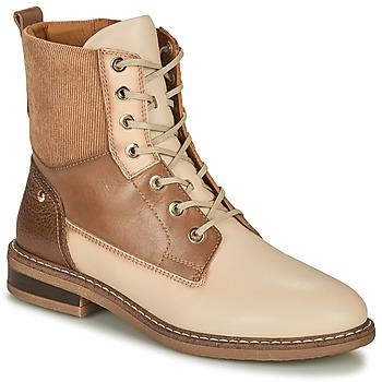 Schuhe Damen Boots Pikolinos ALDAYA Beige