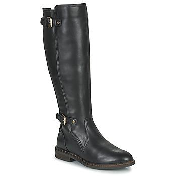 Schuhe Damen Klassische Stiefel Pikolinos ALDAYA Schwarz