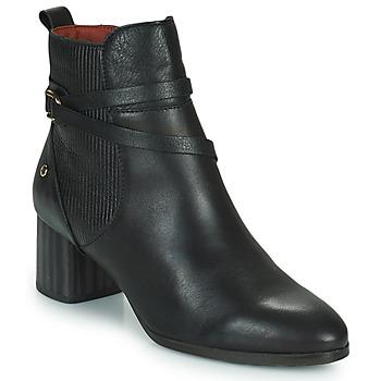Schuhe Damen Low Boots Pikolinos CALAFAT Schwarz