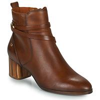 Schuhe Damen Low Boots Pikolinos CALAFAT Braun