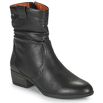 Schuhe Damen Low Boots Pikolinos DAROCA Braun
