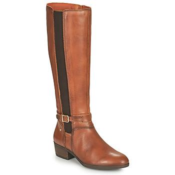 Schuhe Damen Klassische Stiefel Pikolinos DAROCA Braun