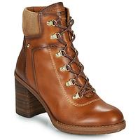 Schuhe Damen Low Boots Pikolinos POMPEYA Braun