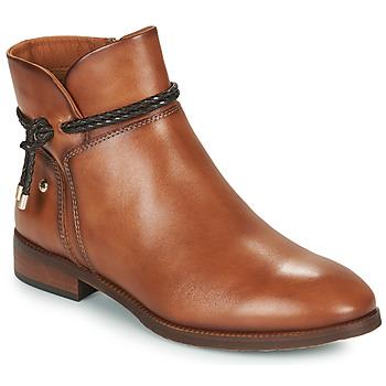 Schuhe Damen Boots Pikolinos ROYAL Braun
