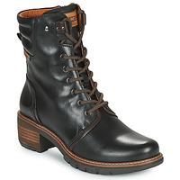 Schuhe Damen Low Boots Pikolinos SAN SEBASTIA Schwarz