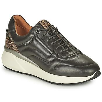 Schuhe Damen Sneaker Low Pikolinos SELLA Schwarz