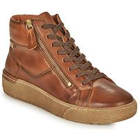 Schuhe Damen Sneaker High Pikolinos VITORIA Braun