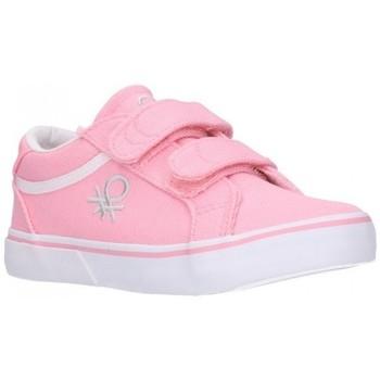 Schuhe Mädchen Sneaker Low Benetton BTK110115 VOID SS21 Niña Rosa rose
