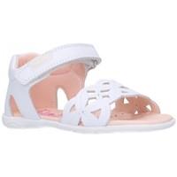 Schuhe Mädchen Sandalen / Sandaletten Pablosky 092200 Niña Blanco blanc