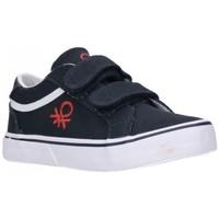 Schuhe Jungen Sneaker Low Benetton BTK110115 VOID SS21 Niño Azul marino bleu
