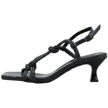 Schuhe Damen Sandalen / Sandaletten Krack  Schwarz