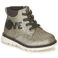 Schuhe Mädchen Boots Chicco FLORINA Silbern