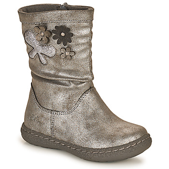 Schuhe Mädchen Klassische Stiefel Chicco CAROL Silbern