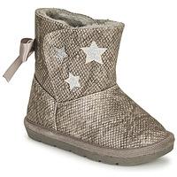 Schuhe Mädchen Klassische Stiefel Chicco CLOVY Silbern