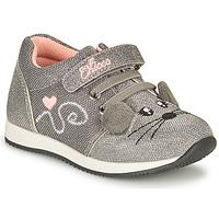 Schuhe Mädchen Sneaker Low Chicco FLEXY Silbern