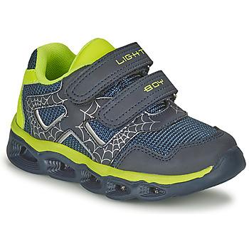 Schuhe Jungen Sneaker Low Chicco CHIRO Marine / Gelb